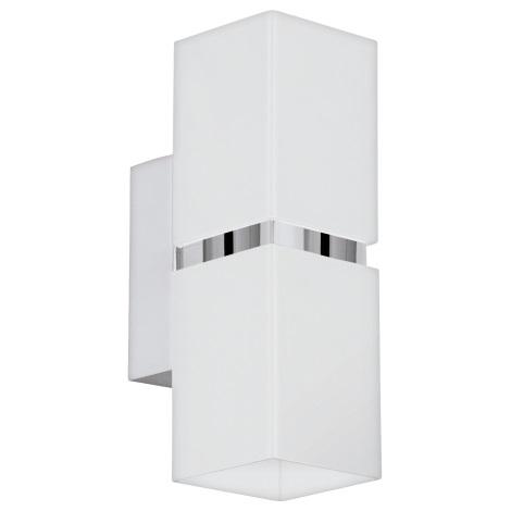 Eglo 95377 - LED Nástenné svietidlo PASSA 2xGU10-LED/4W/230V