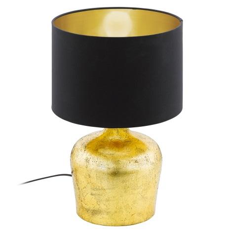 Eglo 95386 - Stolná lampa MANALBA 1xE27/60W/230V
