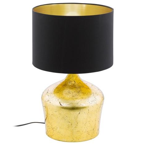 Eglo 95395 - Stolná lampa MANALBA 1xE27/60W/230V