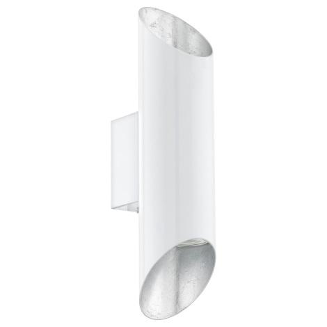 Eglo 95421 - LED Nástenné svietidlo VIEGAS 2xGU10-LED/4W/230V