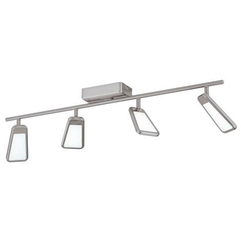 Eglo 95452 - LED Bodové svietidlo ALCAMO 4xLED/5,4W/230V