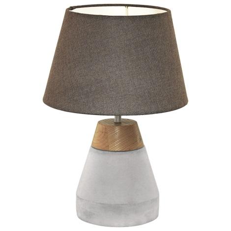 Eglo 95527 - Stolná lampa TAREGA 1xE27/60W/230V