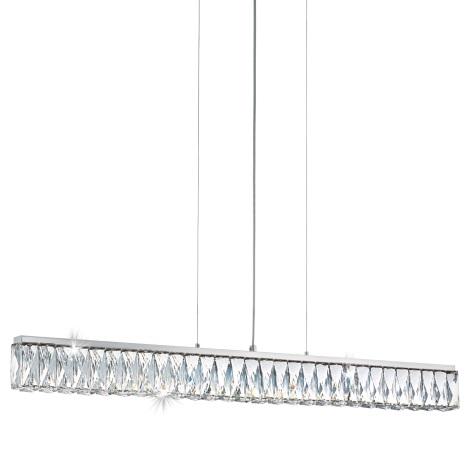 Eglo 95543 - Krištáľový luster TELLUGIO-S LED/36W/230V