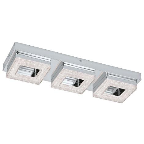 Eglo 95656 - LED Krištáľové stropné svietidlo FRADELO 3xLED/4W/230V