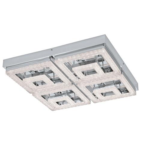 Eglo 95661 - LED Krištáľové stropné svietidlo FRADELO LED/48W/230V