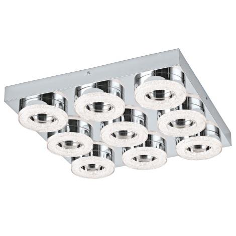 Eglo 95665 - LED Krištáľové stropné svietidlo FRADELO 9xLED/4W/230V