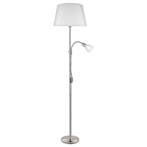 Eglo 95686 - Stojaca lampa CONESA 1xE27/60W + 1xE14/40W