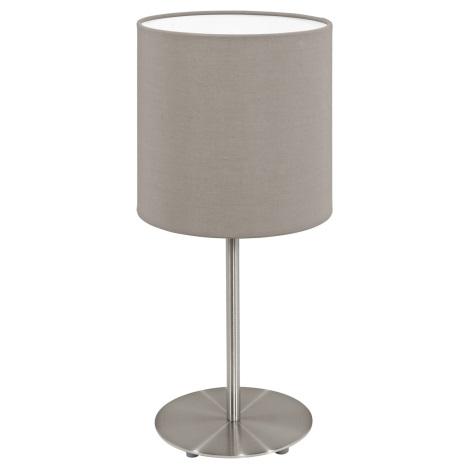 Eglo 95726- Stolná lampa PASTERI 1xE14/40W/230V
