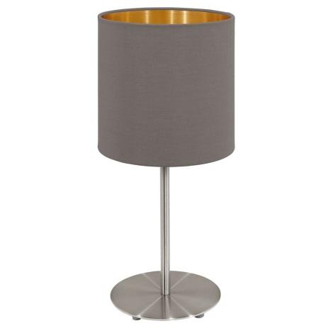 Eglo 95727- Stolná lampa PASTERI 1xE14/40W/230V
