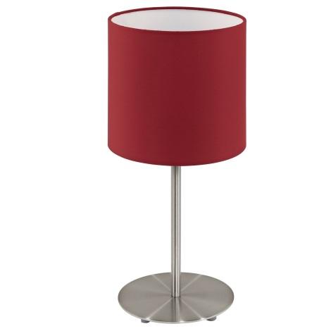 Eglo 95731- Stolná lampa PASTERI 1xE14/40W/230V