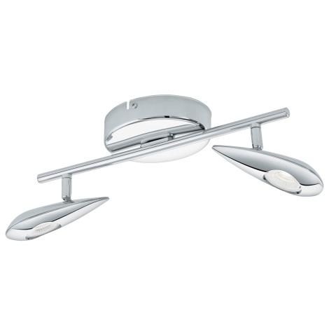 Eglo 95751 - LED Bodové svietidlo PEDREGAL 2xLED/3,3W/230V