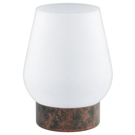 Eglo 95762 - Stolná lampa DAMASCO 1 1xE14/60W/230V