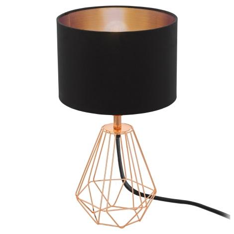 Eglo 95787- Stolná lampa CARLTON 2 1xE14/60W/230V