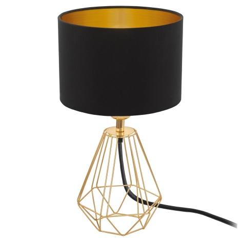 Eglo 95788- Stolná lampa CARLTON 2 1xE14/60W/230V