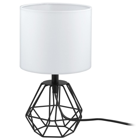 Eglo 95789- Stolná lampa CARLTON 2 1xE14/60W/230V