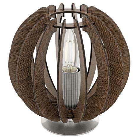 Eglo 95793 - Stolná lampa COSSANO 1xE14/40W/230V