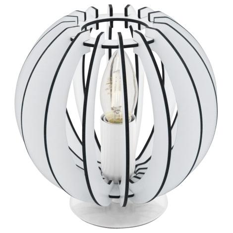 Eglo 95794 - Stolná lampa COSSANO 1xE14/40W/230V
