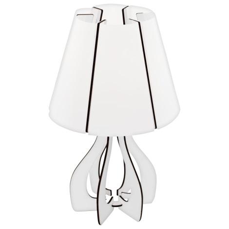 Eglo 95796 - Stolná lampa COSSANO 1xE14/40W/230V