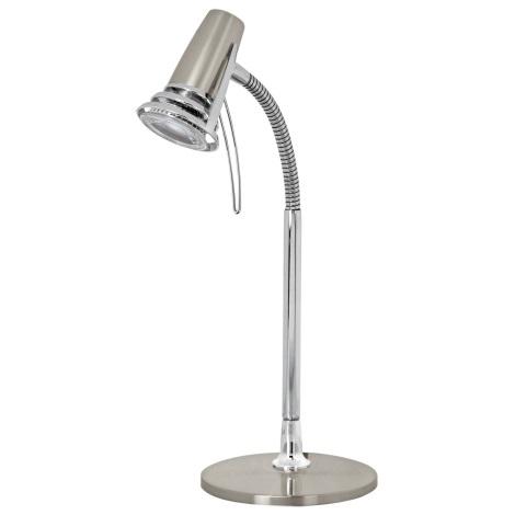 Eglo 95828 - LED stolná lampa LEO 1xGU10-LED/4W/230V