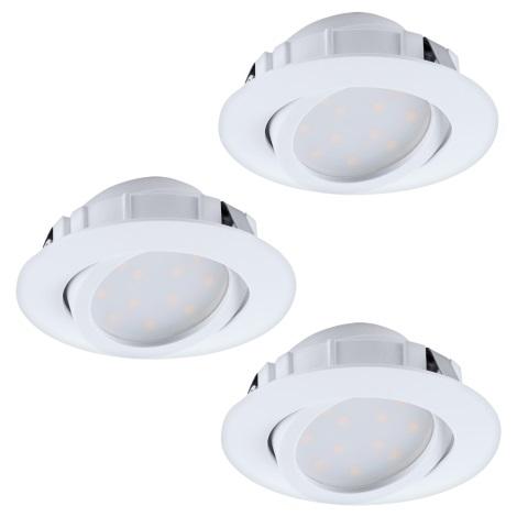 Eglo 95857 - LED podhľadové svietidlo PINEDA 3xLED/6W/230V