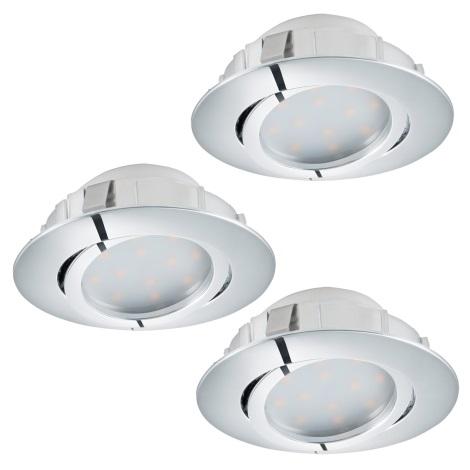 Eglo 95858- LED podhľadové svietidlo PINEDA 3xLED/6W/230V