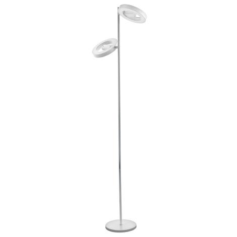 Eglo 95907 - LED Stojacia lampa ALVENDRE-S 2xLED/12W/230V