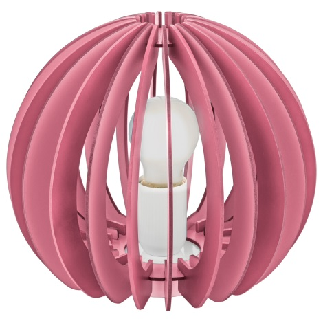 Eglo 95954 - Stolná lampa FABELLA 1xE27/42W/230V