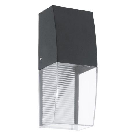 Eglo 95992 - LED Vonkajšie nástenné svietidlo SERVOI LED/3,7W IP44