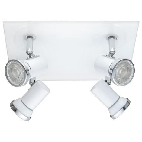 Eglo 95995 - LED Kúpeľňové bodové svietidlo TAMARA 1 4xGU10-LED/3,3W/230V