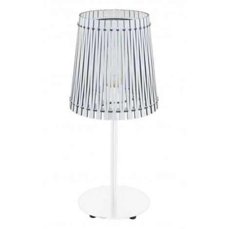 Eglo 96189 - Stolná lampa SENDERO 1xE27/60W/230V