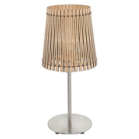 Eglo 96196 - Stolná lampa SENDERO 1xE27/60W/230V