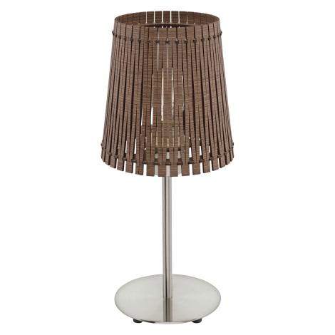 Eglo 96203 - Stolná lampa SENDERO 1xE27/60W/230V