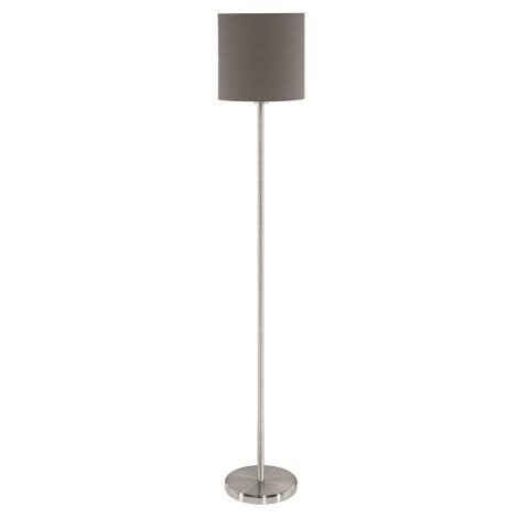 Eglo 96378 - Stojacia lampa PASTERI 1xE27/60W/230V hnedá