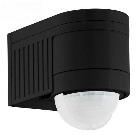 Eglo 96462 - Vonkajší senzor pohybu DETECT ME 4 čierna IP44