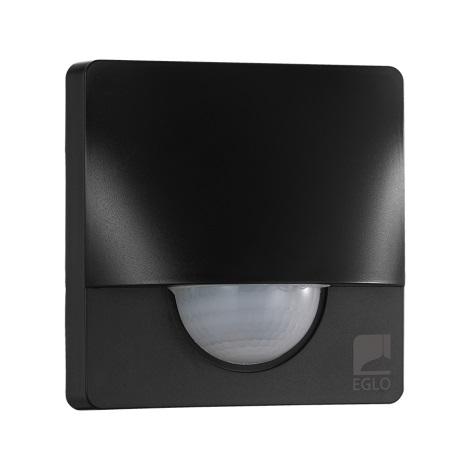 Eglo 97465 - Senzor pohybu DETECT ME 3 12 m čierna IP44