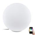 Eglo 98107 - LED RGB Vonkajšia stojacia lampa MONTEROLO-C 1xLED/9W/230V IP65 ø500