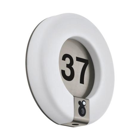 Eglo 98146 - LED Domové číslo so senzorom MARCHESA-HD LED/15W/230V IP44