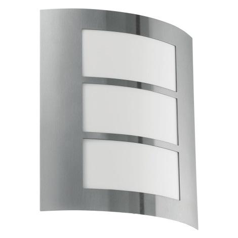 Eglo Blooma - Vonkajšie nástenné svietidlo SANREMO 1xE27/60W/230V IP44
