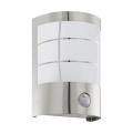 EGLO Blooma - Vonkajšie nástenné svietidlo so senzorom MARACAS 1xE27/40W/230V IP44