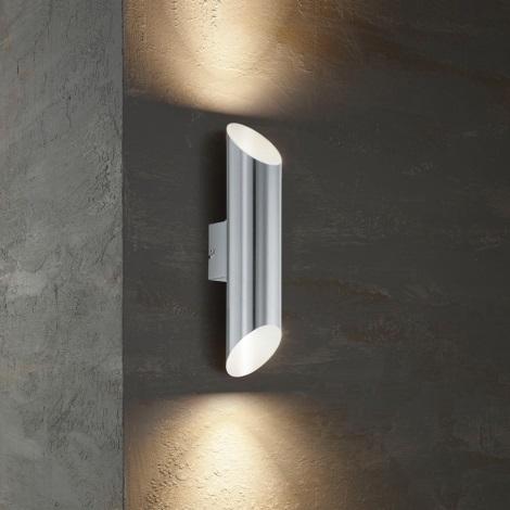 Eglo  - Edi Light 54604 - LED Vonkajšie nástenné svietidlo AGOLADA 2xLED/3,7W/230V IP44