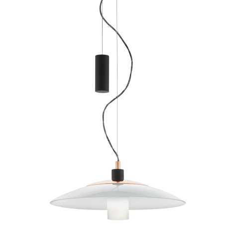 Eglo95464 - Luster CABRAL 1xE27/60W/230V