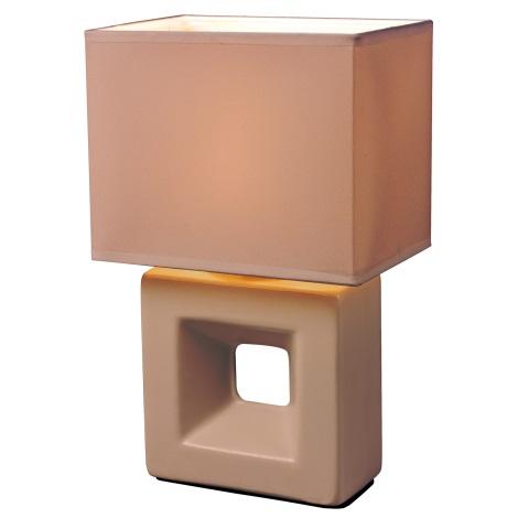 Esto 21102 - Stolná lampa ERICA 1xE14/25W/230V broskyňa