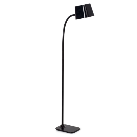 FARO 29925 - Stojacia lampa FLEXI 1xE27/15W/230V čierna