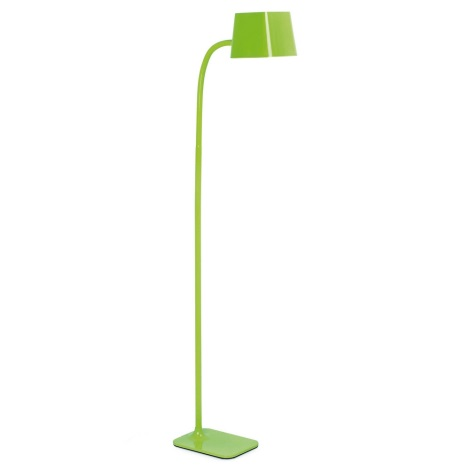 FARO 29927 - LED Stojacia lampa FLEXI 1xE27/10W/230V zelená