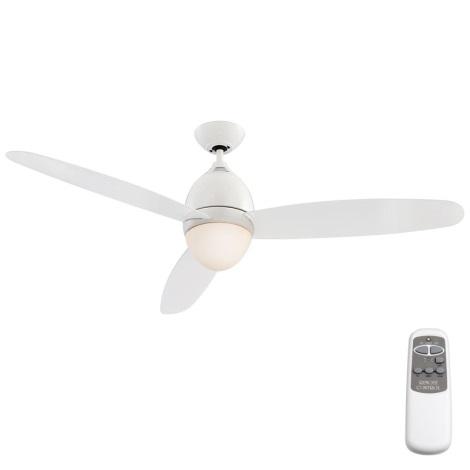 GLOBO 0300 - Stropný ventilátor PREMIER 2xE27/40W/230V