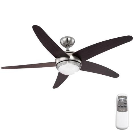 GLOBO 0306 - Stropný ventilátor FABIOLA 1xR7S/80W/230V