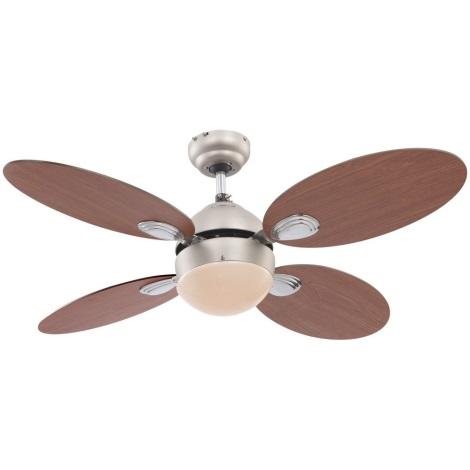GLOBO 0318 - Stropný ventilátor WADE 1xE14/60W/230V