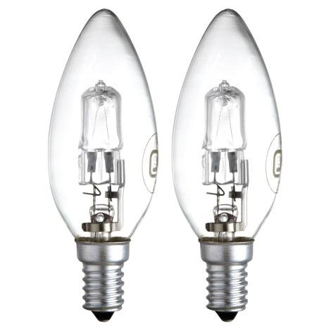 GLOBO 11428-2A - halogénová/úsporná žiarovka 1xE14/28W