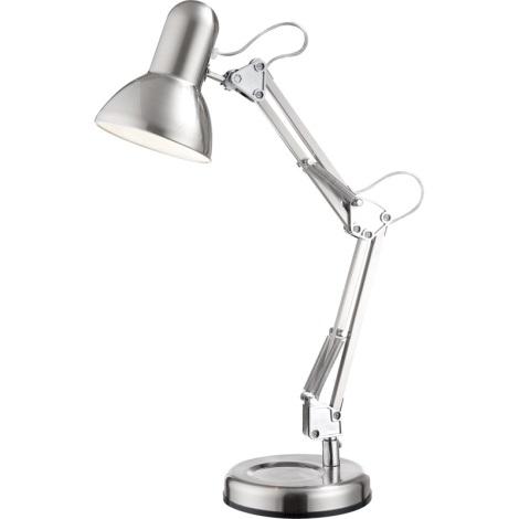 GLOBO 24891 - Stolná lampa FLOW 1xE27/40W