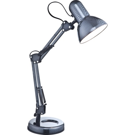 GLOBO 24892 - stolná lampa CARBON 1xE27/40W